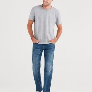 """A"" Pocket 7 For All Man Kind  Whiskered Jeans NWT"